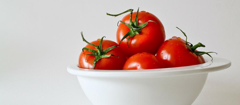 Żołądki drobiowe duszone w pomidorach