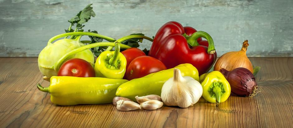 Warzywa duszone - leczo