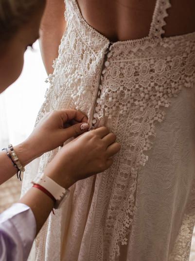Mili y su vestido vintage