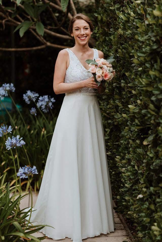 Natu y su vestido tan simple y fresco