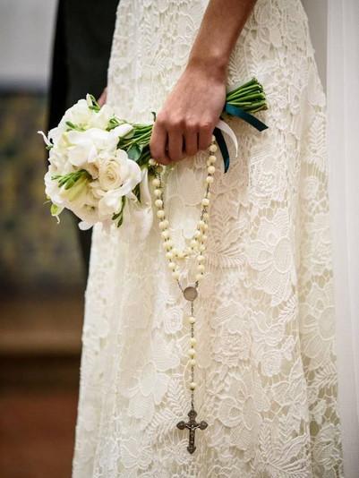 Juana y su vestido lleno de flores