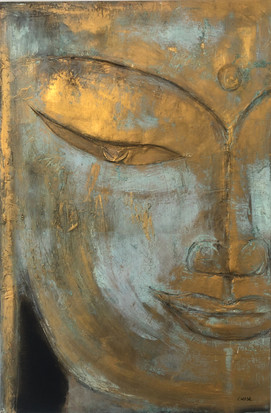 Gold & Patina Buddha A.jpg