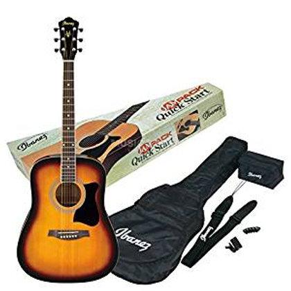 IBANEZ V50NJP-VS  Ibanez V50NJP Jam Pack Acoustic Guitar Package