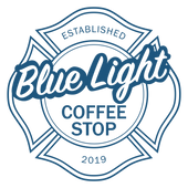 Blue Light Coffee Stop Logo | 1900x1900p