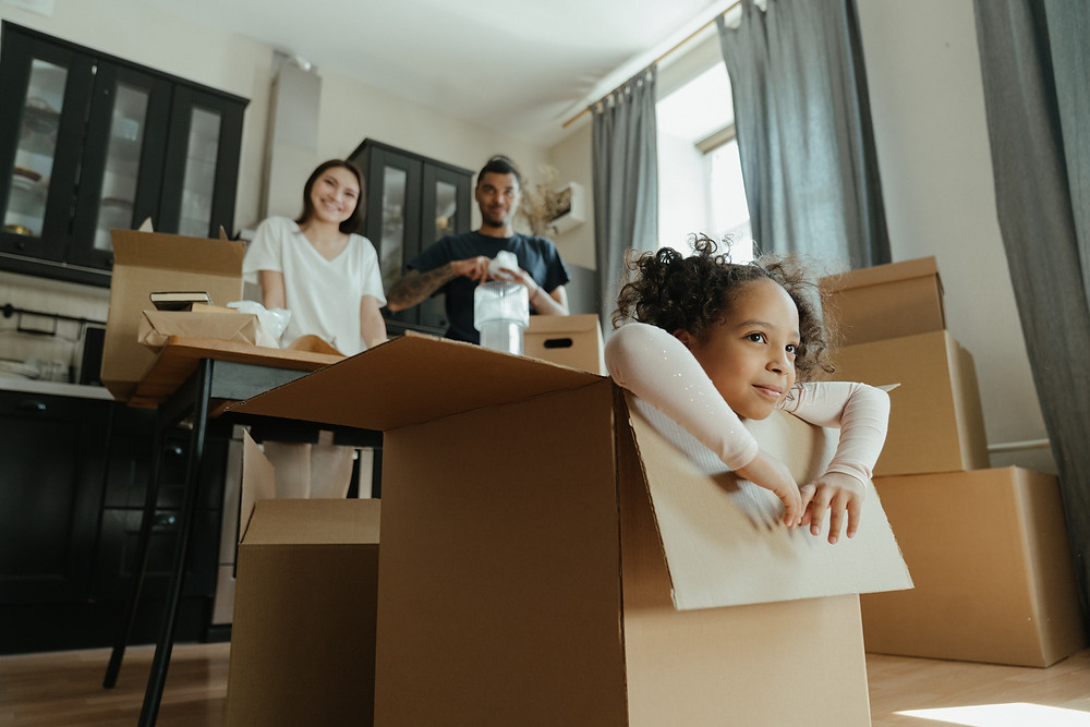 family choosing a relocation package with the ambitious