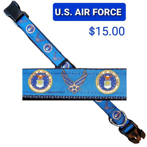 Air Force Dog Collar