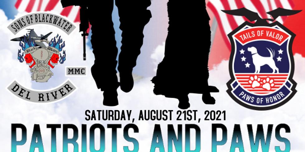 Patriots & Paws Poker Run