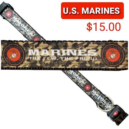 Marines Dog Collar
