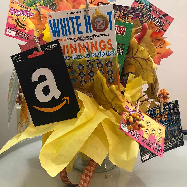August Raffle:  Money does Grow on Trees!