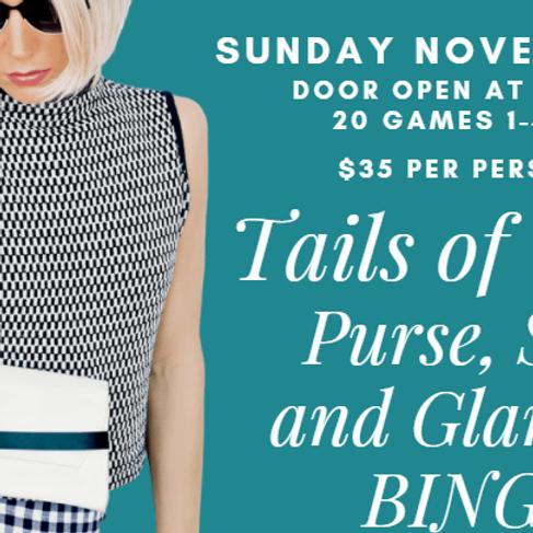 Purse, Spa and Glamour BINGO