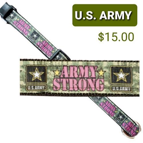 Army Dog Collar