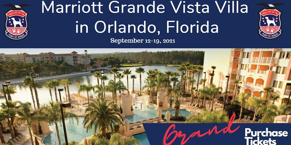 7-Day Stay at Villa at Marriott Grande Vista Resort in Orlando, Florida.