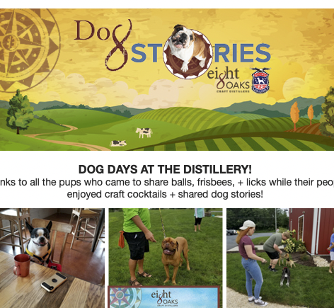 Eight Oaks Dog Stories Fundraiser