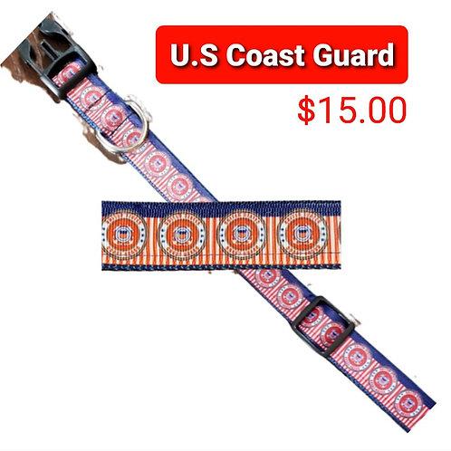 Coast Guard Dog Collar