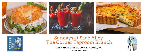 Sunday at Sage Alley The Corner Taproom.