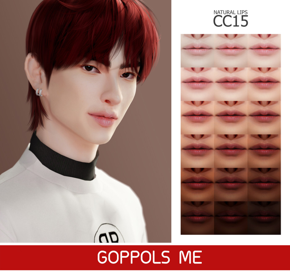 GPME-GOLD Natural Lips CC15
