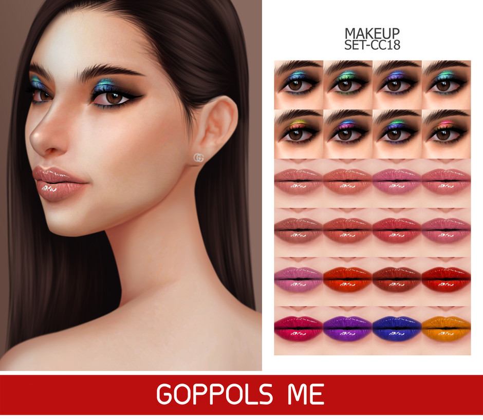 GPME-GOLD MAKEUP SET CC18