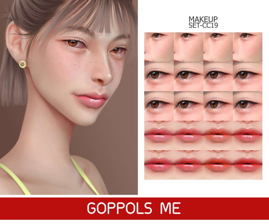GPME-GOLD MAKEUP SET CC19