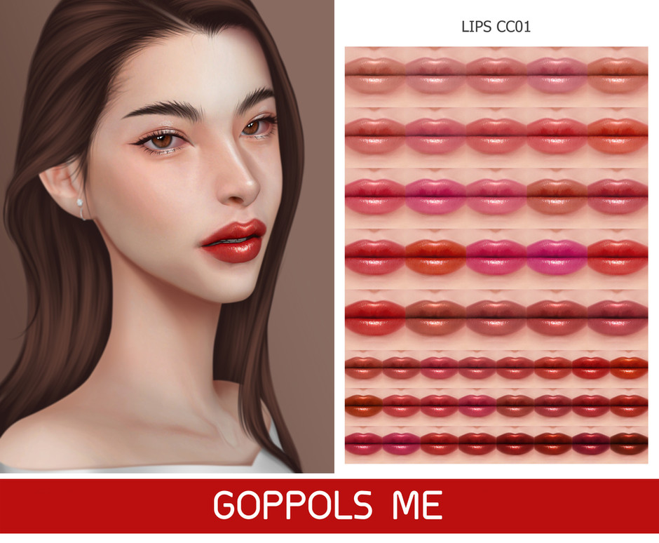 GPME-GOLD Lips CC01