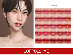 GPME-GOLD Lips CC02