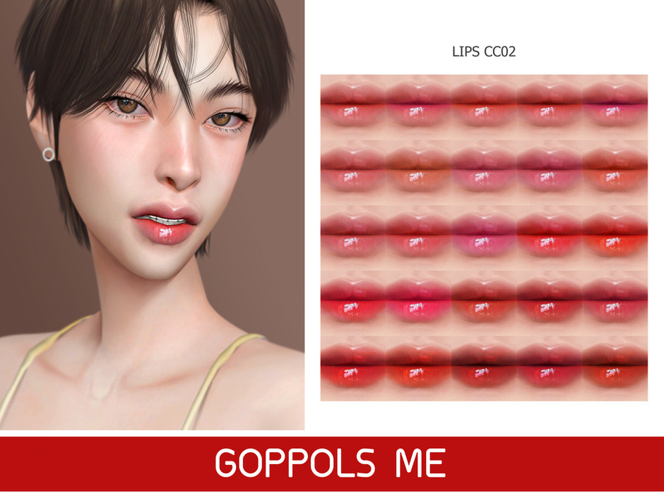 GPME-GOLD Lips CC02
