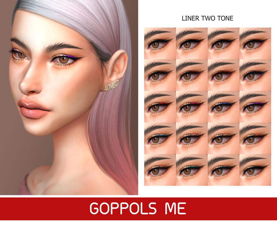 GPME-GOLD Liner Two Tone