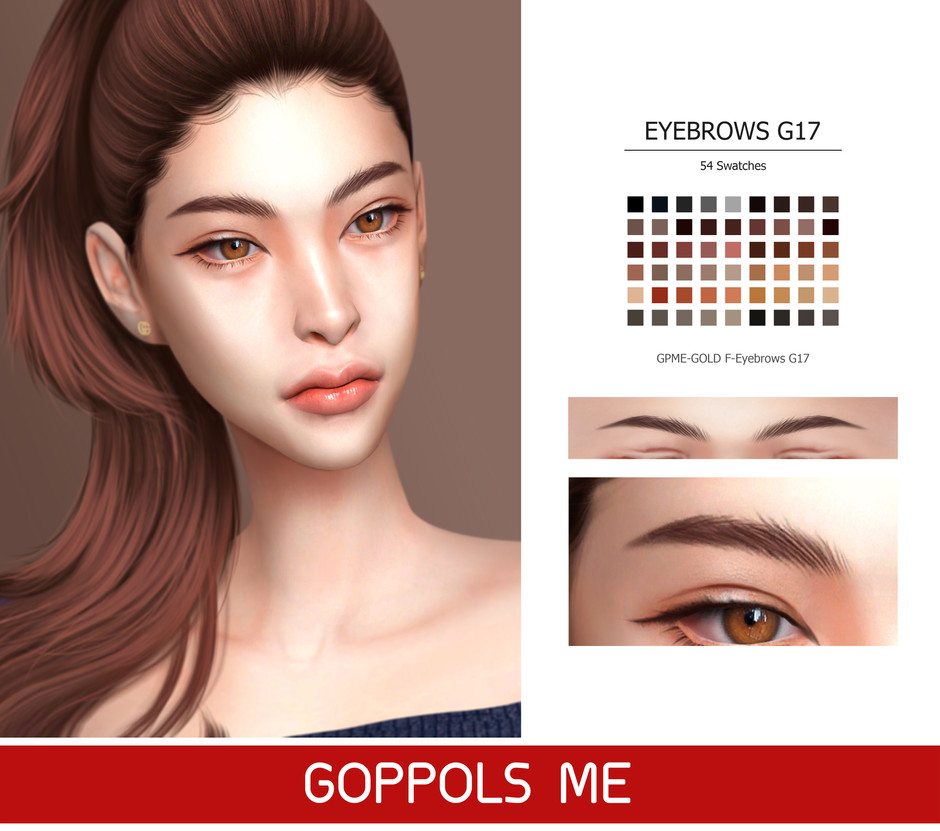 GPME-GOLD F-Eyebrows G17