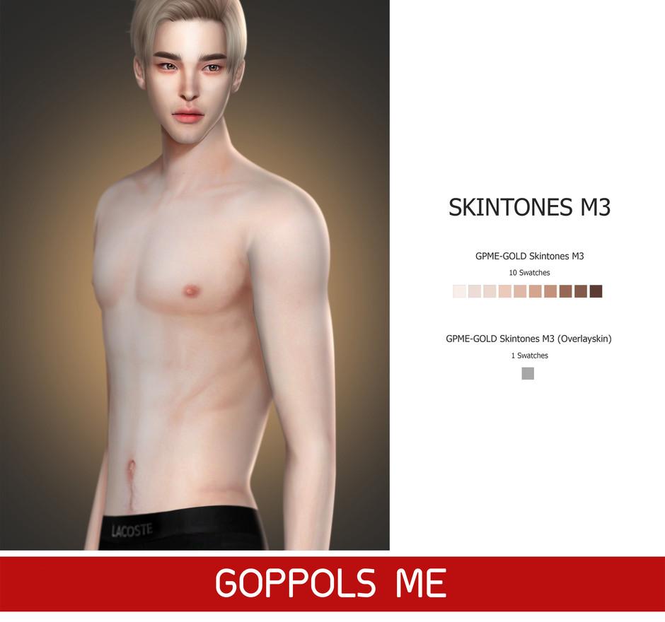 GPME-GOLD Skintones M3