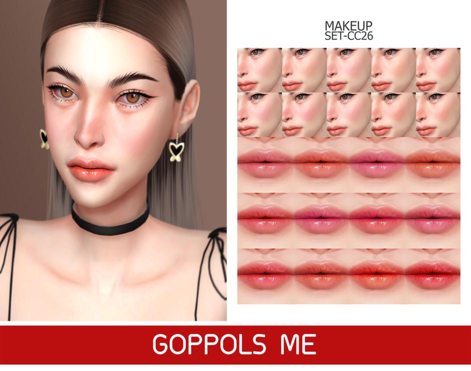 GPME-GOLD MAKEUP SET CC26