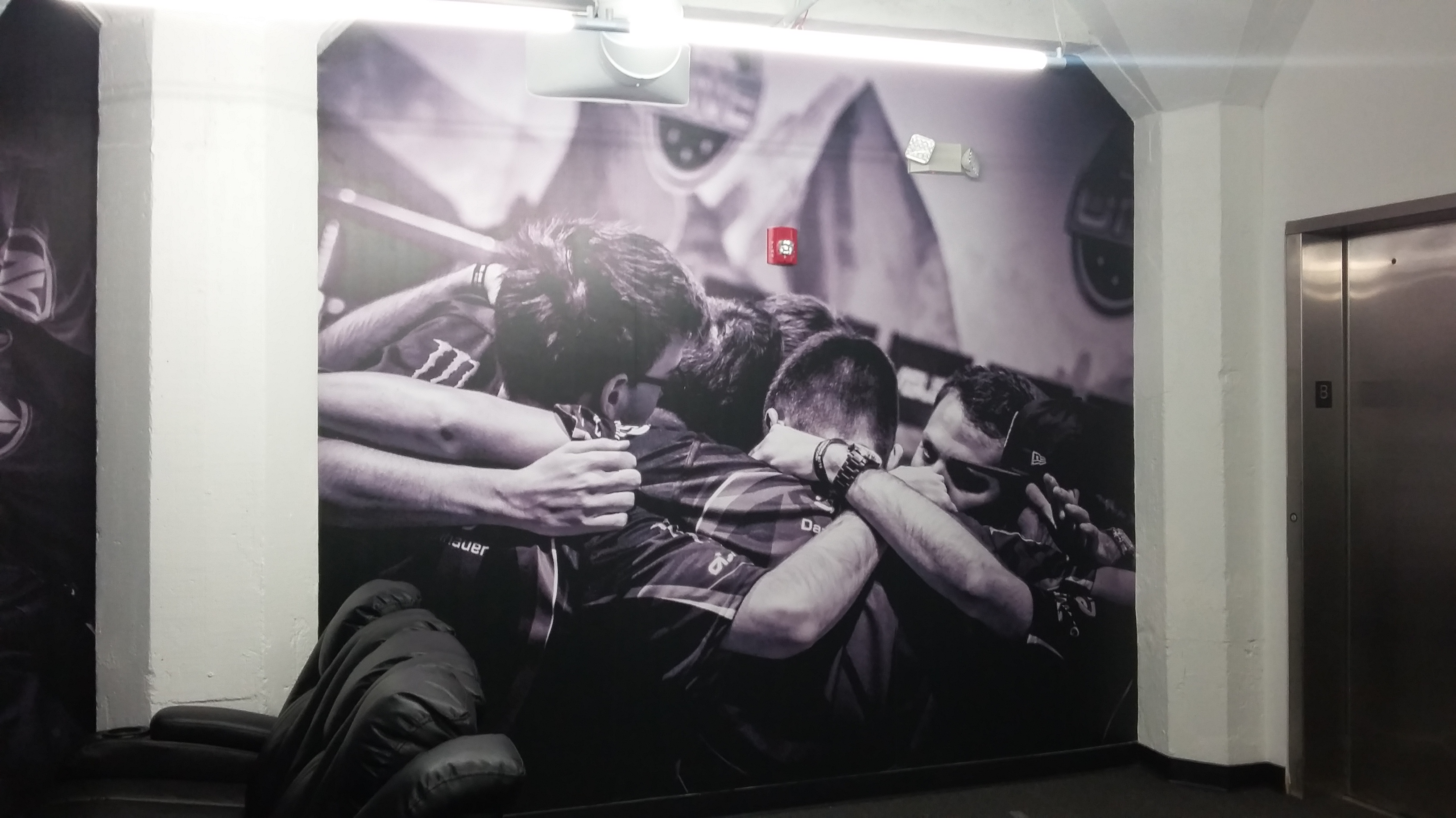Team Huddle Wall Graphic