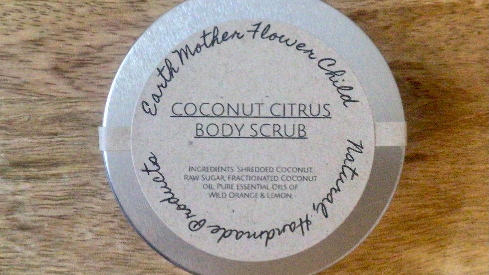 Coconut Citrus Body Scrub.