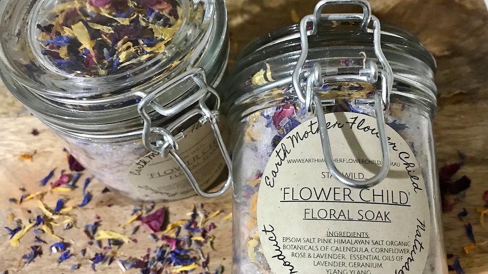 'Flower Child' Bath Soak - 250 g