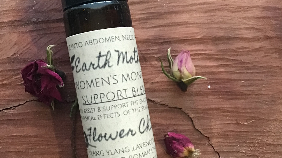 'Women's Monthly Support' essential oil roller blend.10ml