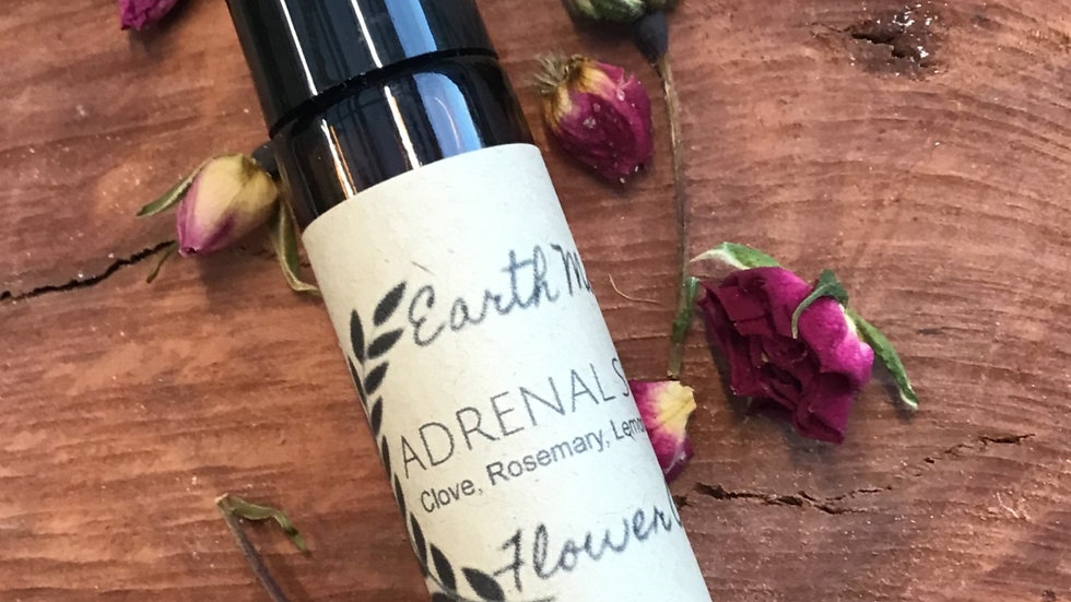 'Adrenal Support' essential oil roller blend. 10ml