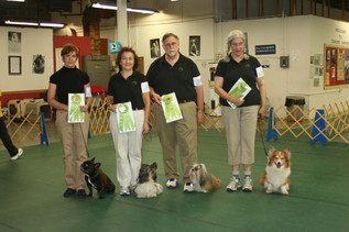 Melitta Carter dog training