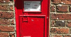 Postbox ruminations...