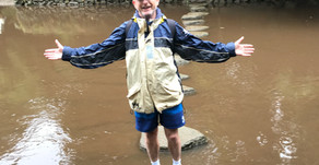 Raindrops kept falling on our heads…….Ashprington (near Totnes) to Dartmouth   by Richard Wotton