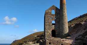 The tin mines of Cornwall, by Philippa Hurst