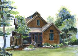 Lake House Brown