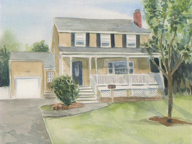 House with a Porch Rendering 12/2019