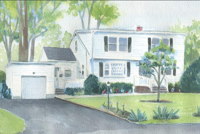 New Watercolor Rendering 4/2019