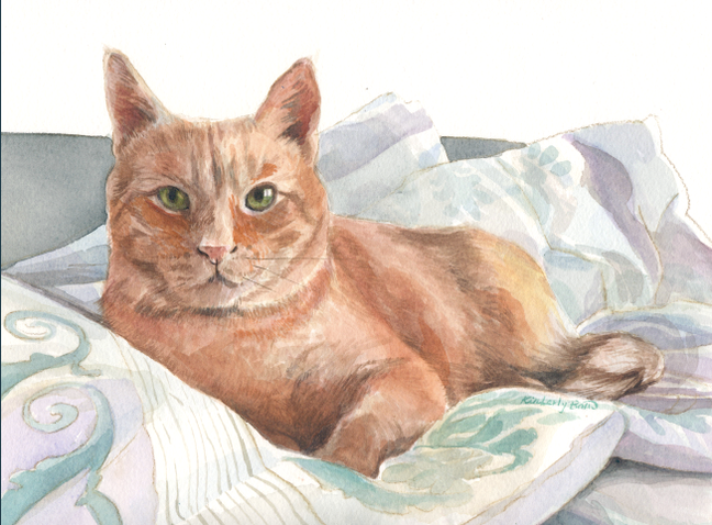 Pet Portrait Painting 11/2019