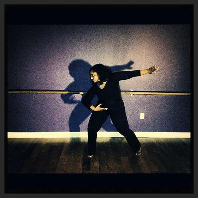 Tuere aka TuLyfe in Modern Dance Pose