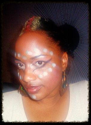 Tuere Aisha aka TuLyfe Stage Makeup