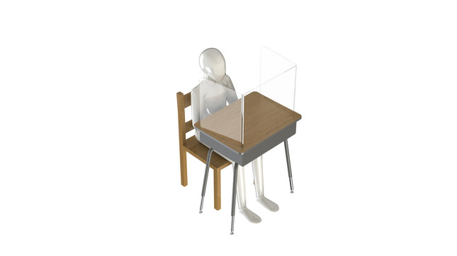 Isometric-View-Partition-Student-DeskG2.