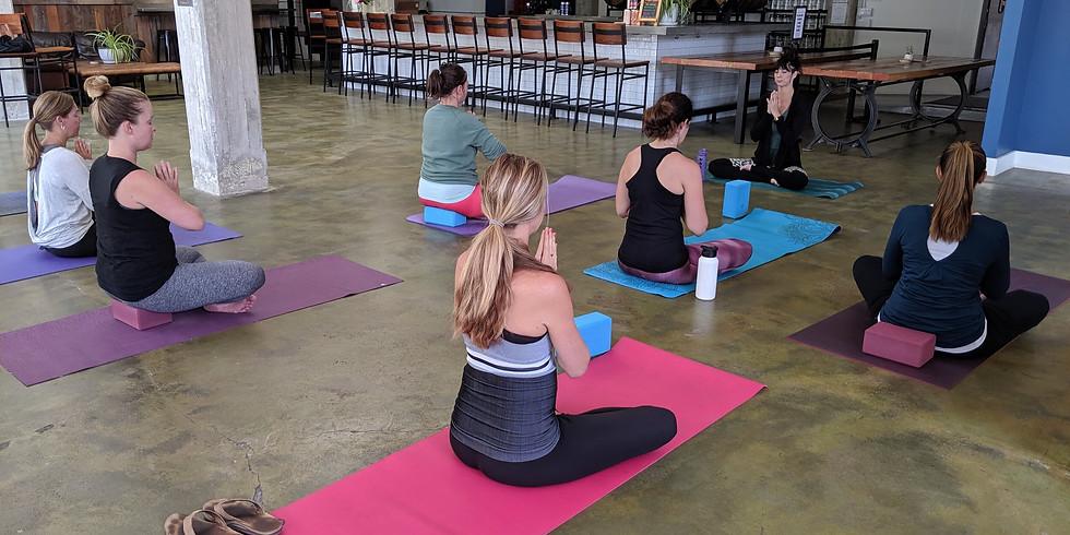 BOGA: Beer + Yoga