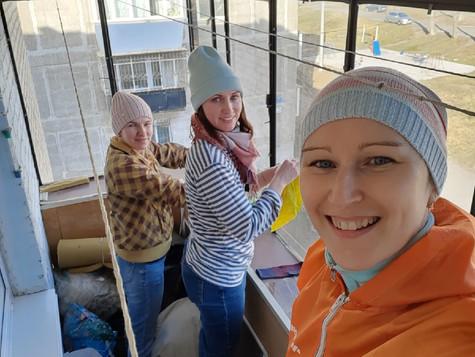 Волонтеры помогают одиноким ветеранам