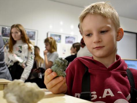 Как обучать детей геологии