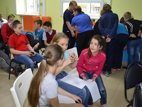 Юные волонтеры «Спасения»