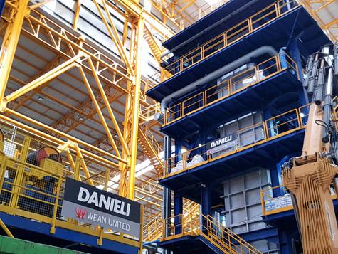 Группа Магнезит выполнила работы в рамках соглашения с компанией Danieli